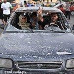 غزة تنبض بالحياة من جديد صباح اليوم ... http://t.co/TqYXclhuGu