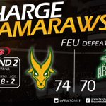 FEU moves to solo lead at Rank 1 with a 8-2 record, Tams defeats DLSU Green Archers. #GoFEU! http://t.co/jRIgnwTeXl