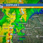 RT @KyleWeather: 5:55am-Storms cont. in NW OK. Heavy rain, lightning, local flooding possible over the next couple hours. #okwx http://t.co/P5xeB7goHR