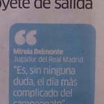 Bueno, pues @marca lo ha adelantado y ya no podemos ocultarlos más: Mireia Belmonte será nuestra nuevo pivot http://t.co/dEmdMw4396