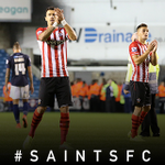 RT @SouthamptonFC: Thanks for your excellent support at The Den last night. Now #WeMarchOn to Upton Park! #saintsfc http://t.co/ngdUczX9Mj