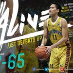 UST Growling Tigers panalo kontra UP http://t.co/LBrGC8yVZl http://t.co/Xy8OWwepLS