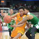 #UAAP77: @miketolomia13 lead @FarEasternU charge to top spot with 22 pts, downs #DLSU, 74-70. Teng finished with 28. http://t.co/4ivoFPlbPJ