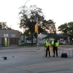 Crash happened around 2:40 AM. St.Marys and St. Annes expected to be close most of morning rush. #cbcmb http://t.co/DgiGpWCMfk