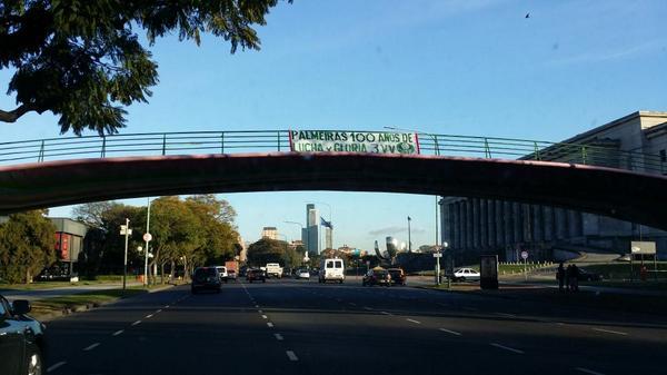 Buenos Aires #100AnosDePalmeiras http://t.co/GoBETAAO0J