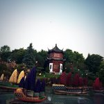 Its sticky! Watch my weather forecast live from China...I mean #Montreal! http://t.co/xxFfilYd65 #BotanicalGardens http://t.co/vp0zMu4XPT