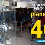 RT @elcomerciocom: #LoMásCompartido / CNT ya comercializa celulares con planes 4G en #Ecuador » http://t.co/L1G7MhXPNV http://t.co/AOwaQuvRKR