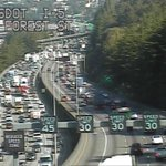 Heres a look at the SB 5 slowdown due to the overturned semi. http://t.co/hvJmi7WgTO