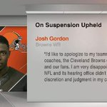 Foh RT @SportsCenter: Josh Gordon releases statement on one-year suspension from Browns. http://t.co/mK4xq4NHxs