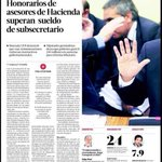 RT @DerechaTuitera: Millonarios sueldos en hacienda y el país con desaceleración. La conciencia social del zurderio. @alvaroelizalde http://t.co/dXXO9Gl2Hq
