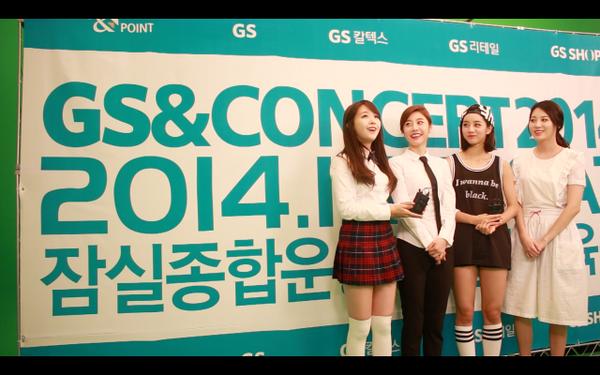 한밤에서 걸스데이가 말한 콘서트는GS&콘서트! @Girls_Day_Minah @Girls_Day_Hyeri @Girls_Day_Yura  @Girls_Day_Sojin http://t.co/tMO8Sijdn4 http://t.co/vUxj6A0txW
