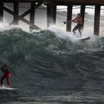 Southern California prepares for high surf, coastal flooding, courtesy Hurricane Marie http://t.co/Tb9fAV1u77 http://t.co/0hOzCZq7Ra