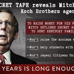 RT @AlisonForKY: SHOCK: In a new secret tape, @Team_Mitch outlines his radical anti-Kentucky agenda: https://t.co/hKBxkkjqiG #KYSen http://t.co/W5eNdgtylB