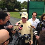 "RT @UCF_Football: ""This is football weather!"" - George OLeary as he talks with the media prior to practice #IrishKnights http://t.co/FJntW1YrWU"