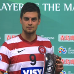 ...and the @tsingtao man of the match goes to Tomi Juric! #GUAvWSW #ACL2014 http://t.co/rn9WduoBAb