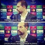 Pes etmedikçe yenilmezsin.  Haydi Beşiktaş! http://t.co/IilpZsyn7Q