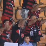 The @wswanderersfc fans who made the trip will be having a great night tonight! #GUAvWSW #ACL2014 http://t.co/9fWuQkU51y