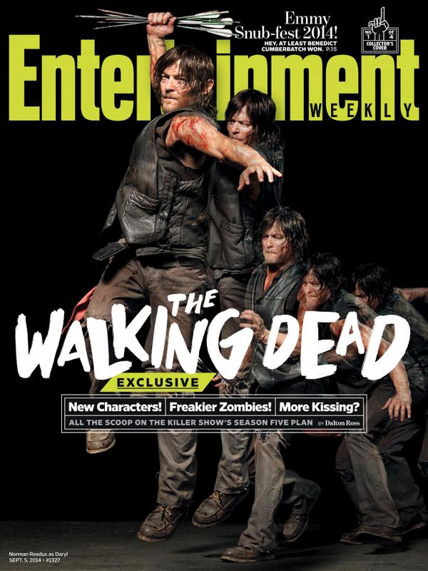 New Characters! Freakier Zombies! More Kissing? The ultimate @WalkingDead_AMC season 5 scoop: http://t.co/B9QRe95c1a http://t.co/xa9G3YzUX8