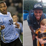 RT @hulldailymail: Abel Hernandez in Hull for City talks. Great pic @MrBentham of Abel with son Charlie http://t.co/A4R4ApDspC #hcafc http://t.co/yEbbbm3lbl