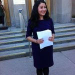 RT @GiuntaNews: @MaryamMonsef declares her candidacy for mayor of #Ptbo. @CHEXNewswatch http://t.co/tTl7edxjHf