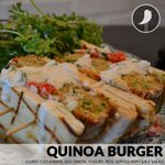 Looking for a healthy lunch alternative? Give our #quinoa burger a try today. http://t.co/udwrXt9Zrk
