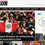 RT @T13: Así informan los diarios peruanos sobre la marcha al triángulo terrestre http://t.co/BeNIG3haap http://t.co/hwNgi8VXXl