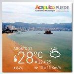 El clima en #Acapulco. http://t.co/zp2PcaL8AY