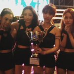 RT @allkpop: KARA takes home the trophy for Mamma Mia on Show Champion http://t.co/oHcHPkLsN2 http://t.co/2ivGRKyt9z