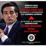 Denuncia @ChileBcl aumento escandaloso de contratos de honorarios en Ministerio del interior #Peñailillo http://t.co/F65BZyVeA1