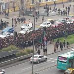 RT @matias_carrozzi: Así se ven a esta hora los estudiantes que marchan por la Alameda de Santiago en protesta por ranking de notas --> http://t.co/a4YSs7hxWq