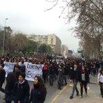 RT @MegafonoPopular: Ahora por Alameda marchan más de 7000 estudiantes junto a sus profesores para decir NO AL RANKING DE NOTAS http://t.co/JcQEKRVyRM