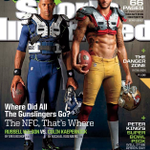 RT @PCC: @DangeRussWilson, Colin Kaepernick on this weeks Sports Illustrated cover @SInow - http://t.co/hGOQWVxpCB #GoHawks http://t.co/pJenR3378J