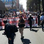 RT @Chileokulto: Con baja convocatoria comenzó la marcha convocada por los nacionalistas peruanos en Tacna http://t.co/wJRPqlvw8W
