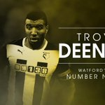 RT @watfordfcsays: OFFICIAL: @T_Deeney signs new 4-yr #watfordfc deal. Reaction at http://t.co/UYKH3UBSjo. Troy Deeney: Watfords No. 9 http://t.co/3CxWktK6jJ