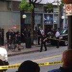 RT @SimsCBS46: @CBS46atl has exclusive video of shooting. Man with knife swung at plain clothe GSU officer http://t.co/PkZZjeYbPS