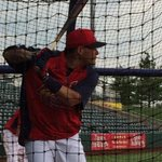 Yadier Molina taking BP at Hammons Field. He expects to play 5 or 6 innings tonight for @Sgf_Cardinals http://t.co/o87qiTPEyB