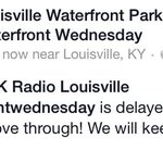 This just in from @wfpark & @WFPK... #WaterfrontWednesday http://t.co/CcmQRaRkgR