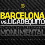 RT @BarcelonaSCweb: Adquiere hoy tu entrada ! El Domingo hay que estar con nuestro equipo ! #vamosidolo http://t.co/8koducCS74