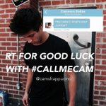 RT for good luck with #CallMeCam ???? http://t.co/W51I6Rzor2