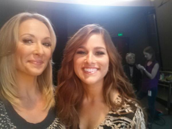 @CassadeePope is our guest co-host on this weekend's #CMTHot20. Love this girl! Beauty, brains, and serious talent. http://t.co/QRj96nl6YD