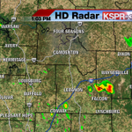 Scattered storms are once again popping up this afternoon across the Ozarks. #ozarkswx http://t.co/oqVmgppPy1