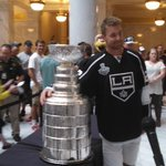 RT @dana_greene: Utah native and LA King Trevor Lewis with the Stanley Cup. Hear from him tonight on @abc4utah at 6 & 10. http://t.co/0Gv1tzRC1g