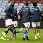 RT @AVFCOfficial: #AVFC v #LOFC warm-up pictures: @DarrenBent on the hunt for goals tonight. #AVFCLIVE http://t.co/eNFtKGv9nb