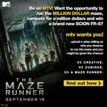 RT @MTVteenwolf: Its your LAST CHANCE to win big for @MazeRunnerMovie! Head to http://t.co/i08n8SfrKt for details! http://t.co/JwCmQXM1EM