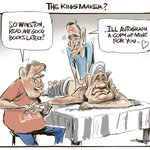 RT @rodemmerson: The Kingmaker ? (again) CARTOON in todays @nzhpolitics #dirtypolitics #election2014 @winstonpeters http://t.co/65jztWj379