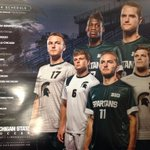2014 Mens Soccer poster released today. All three jerseys on display. #GetSome #GoGreen http://t.co/7gOGSzCj18