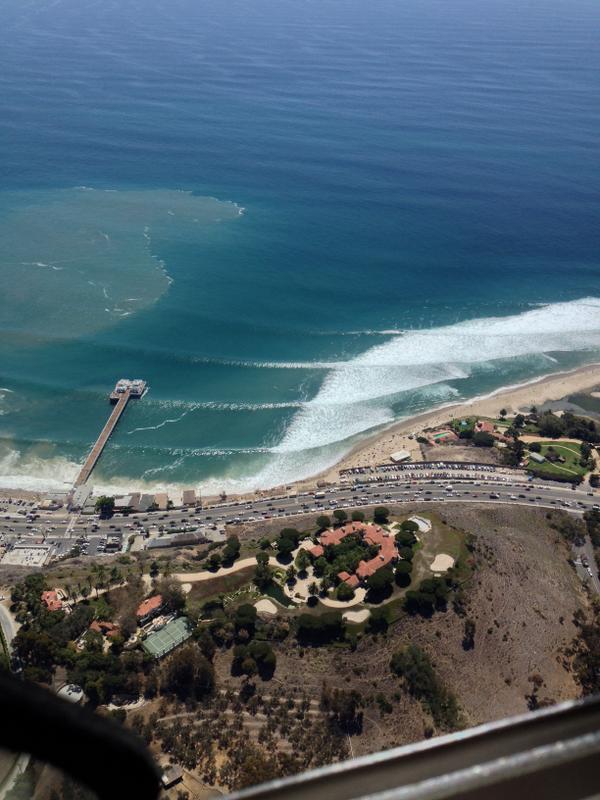 #Malibu #Marie #HighSurf Malibu, Wednesday August 27, 12:2m PDT @myfoxla @GDLA http://t.co/su1YQESiKJ