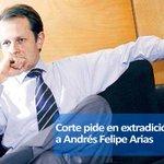 RT @BluRadioCo: #ATENCIÓN: Corte Suprema pide en extradición al exministro Andrés Felipe Arias http://t.co/ZEM6sJUBlK http://t.co/7mOjP4nj5k