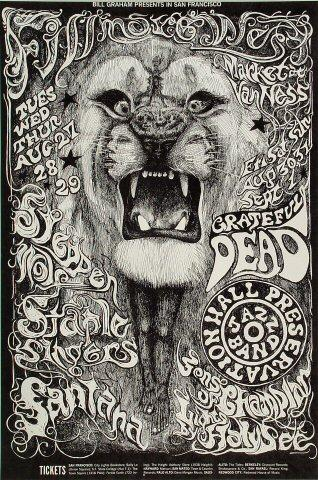 #PosteroftheDay - Grateful Dead & Santana @ the Fillmore West 46 yrs ago today on 8/27/68 http://t.co/Mk2zn9sWbA http://t.co/yZf2OPqPEB