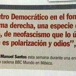 Este es el respeto y las garantías que @JuanManSantos le da a la oposición democrática ----> http://t.co/6yf8ewfrJb